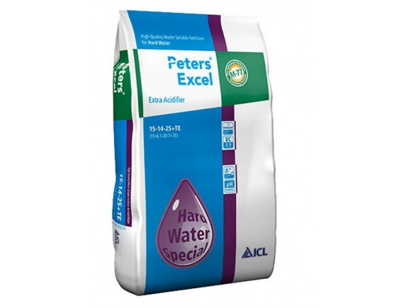 Ingrasamant hidrosolubil Peters Excel 15+14+25+me Extra Acidifier 15 kg