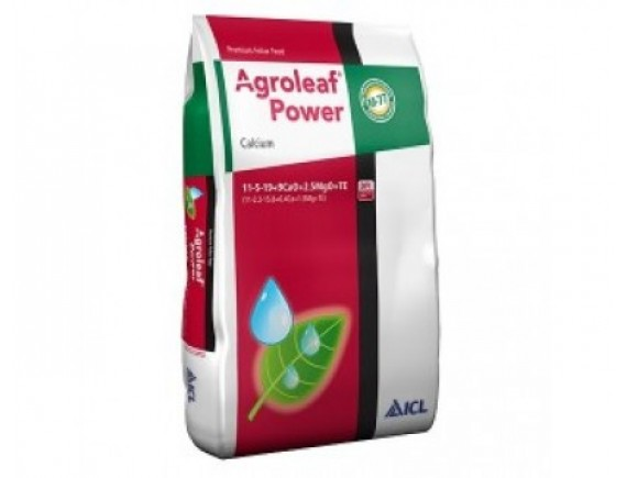 Ingrasamant foliar Agroleaf Power Calciu 11+05+19+9CaO+2.5MgO+me+bio 15 kg