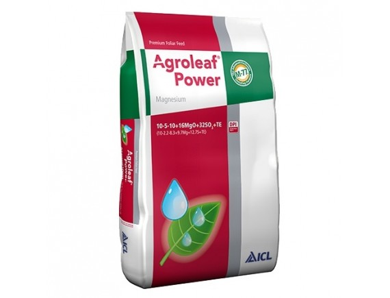 Ingrasamant foliar Agroleaf Power Magneziu 10+5+10+16MgO+32SO3+me+bio 15 kg