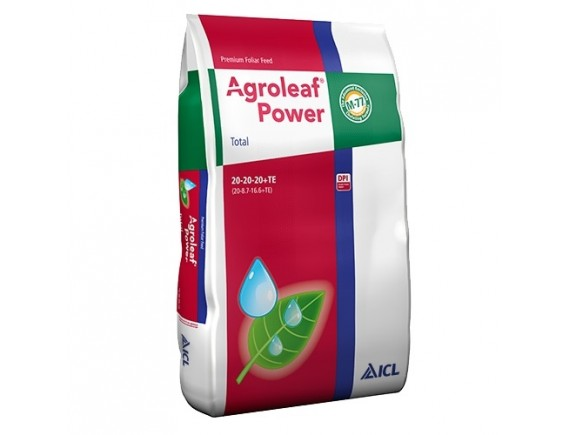 Ingrasamant foliar Agroleaf Power total 20+20+20+me+bio 15 kg