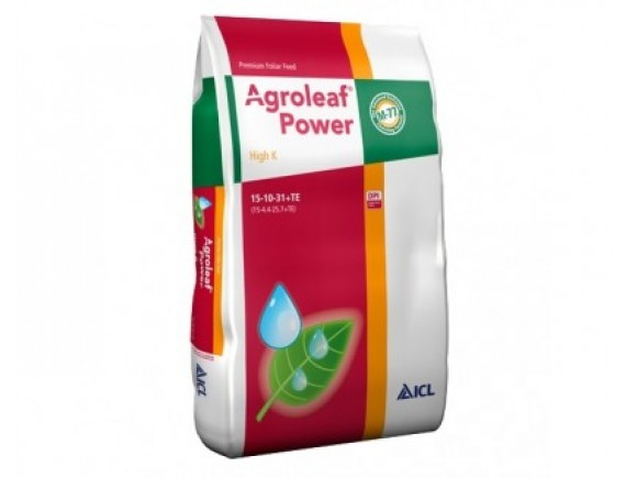 Ingrasamant foliar Agroleaf Power High K 15+10+31+me+bio 15 kg
