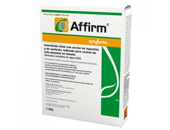 Insecticid Affirm 1 kg