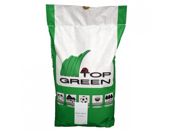 Seminte de gazon profesional Top Green Agrement cu micro-trifoi 10 kg